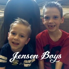 Jensen Boys Tanner and Skyler Jensen